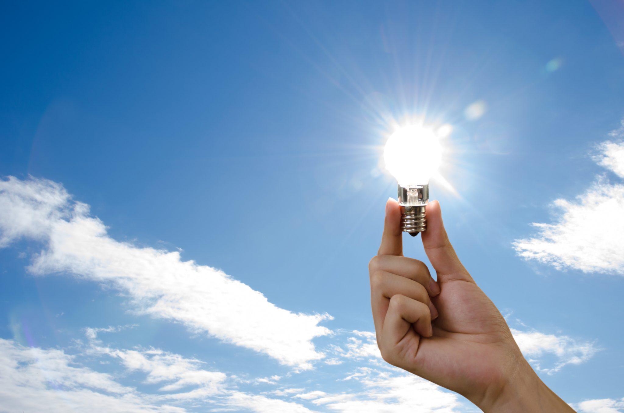 ampoule edf énergie solaire