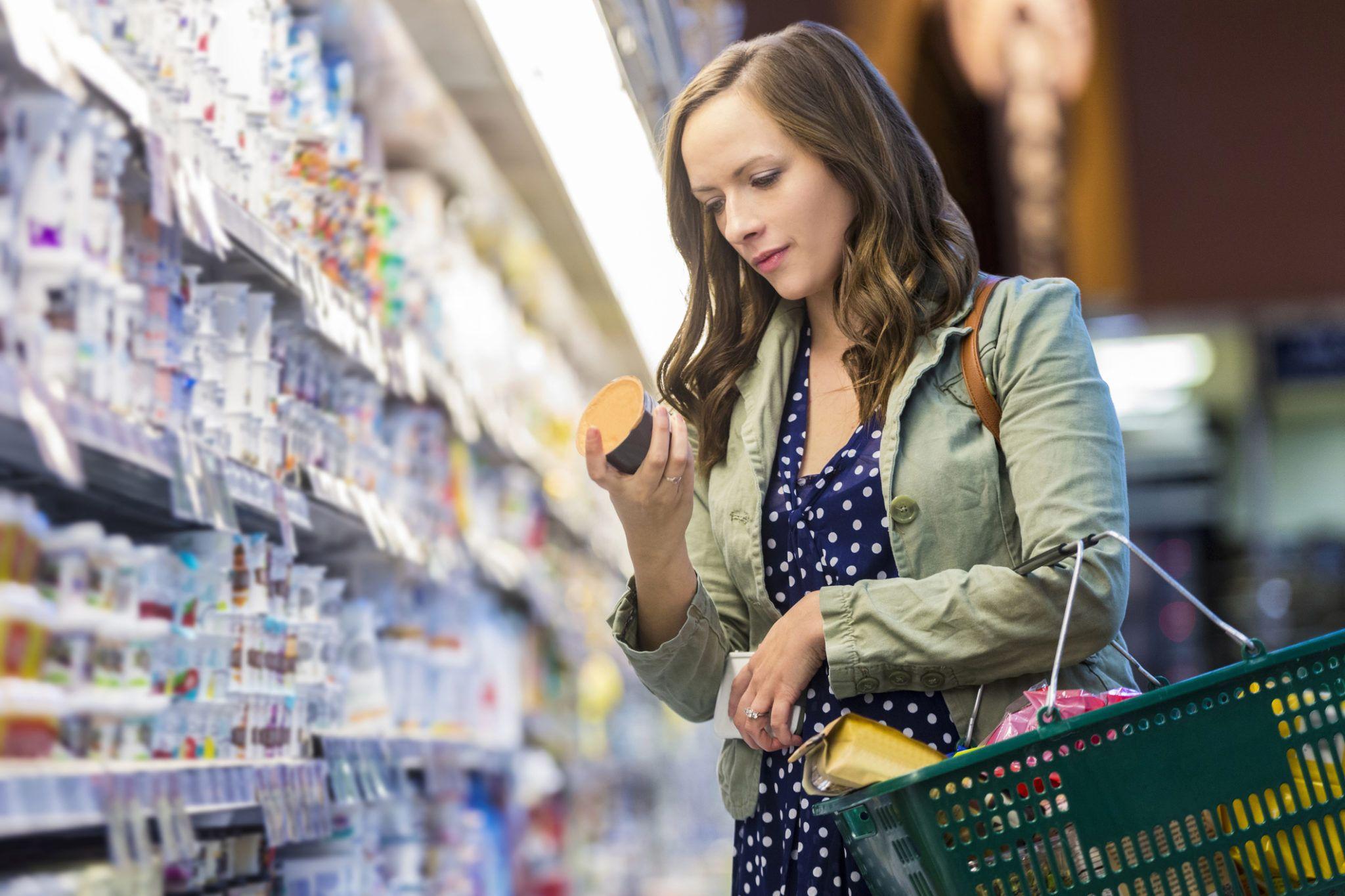 Supermarché produits taxes