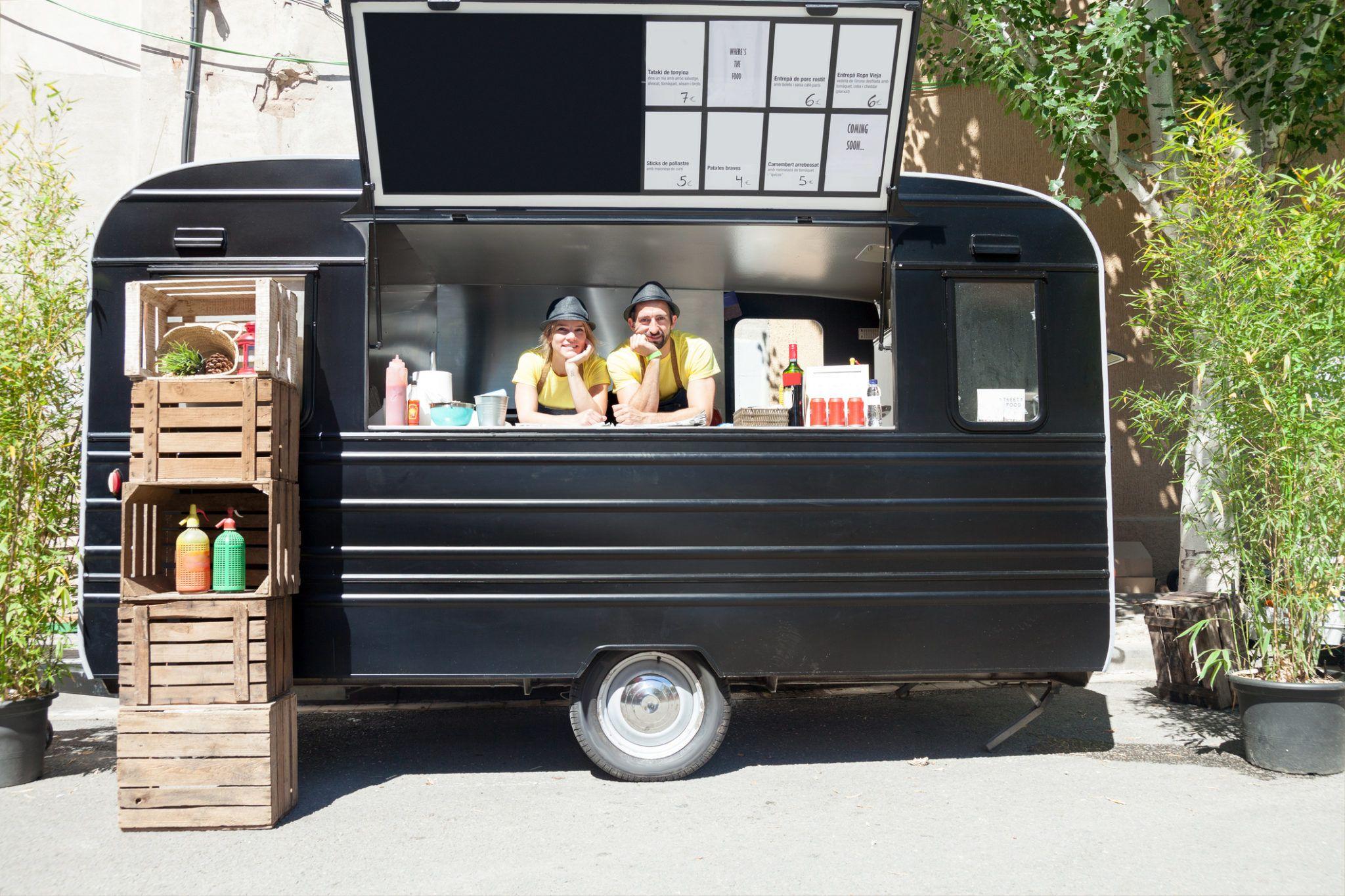 Food truck entrepreneur indépendant