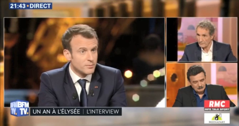 Macron réformes Bourdin BFM