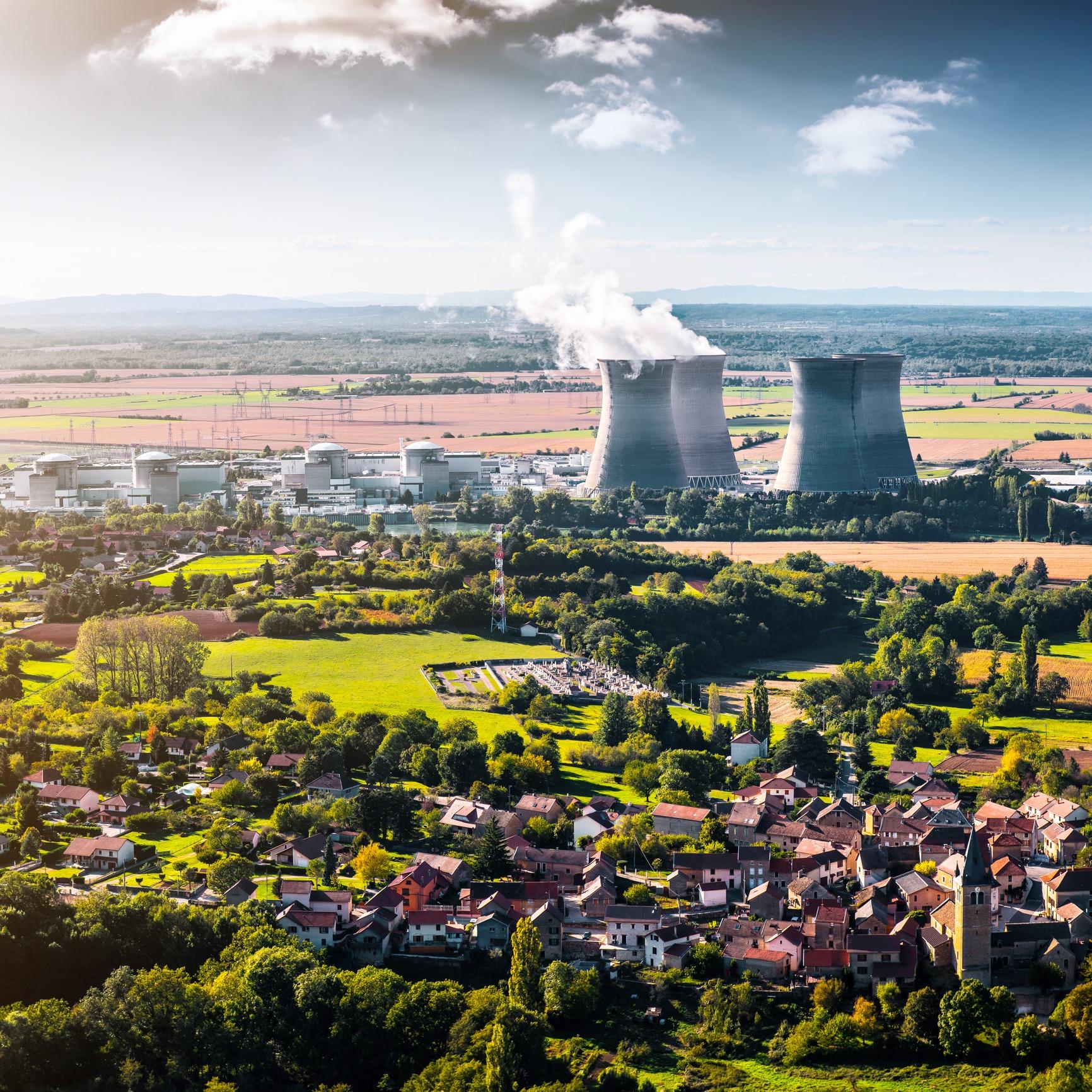 Centrale nucléaire EDF Que Choisir Electricité