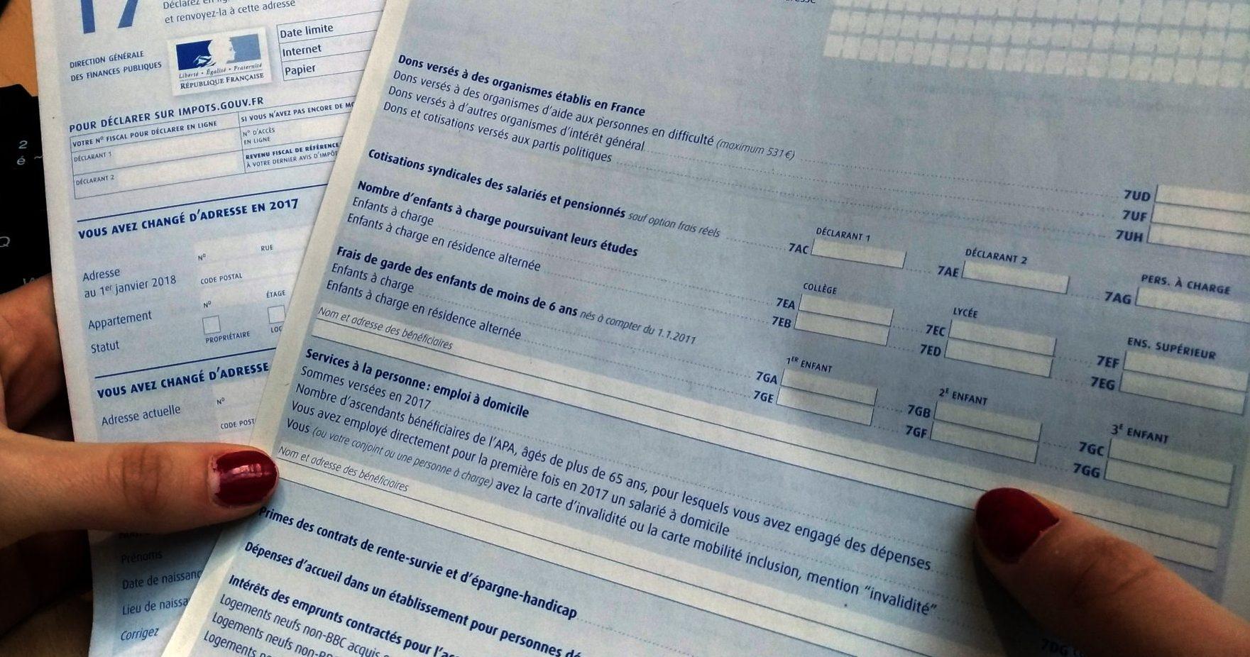 impôts 2018 déclaration de revenus