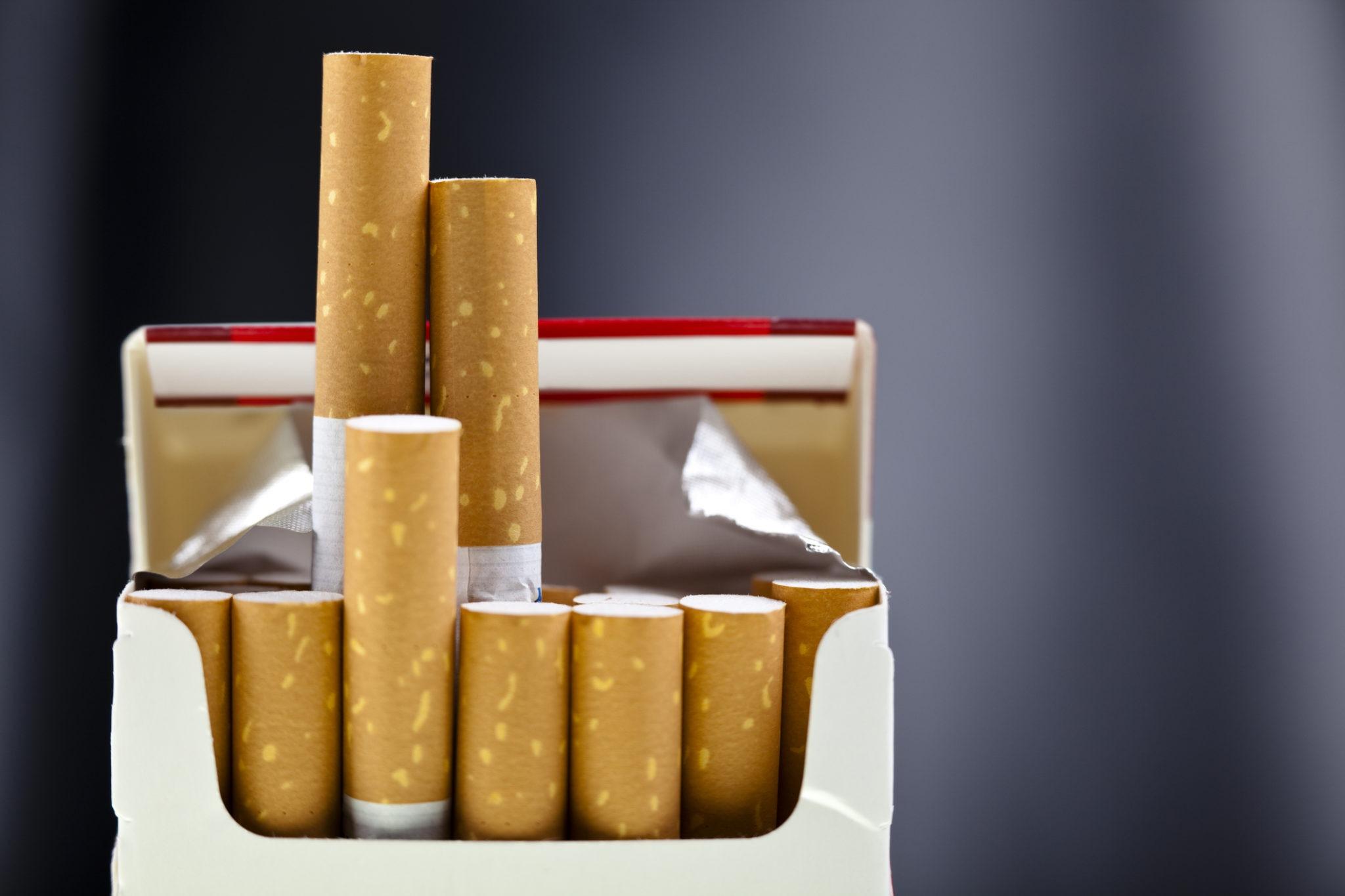 Paquet cigarettes tabac prix