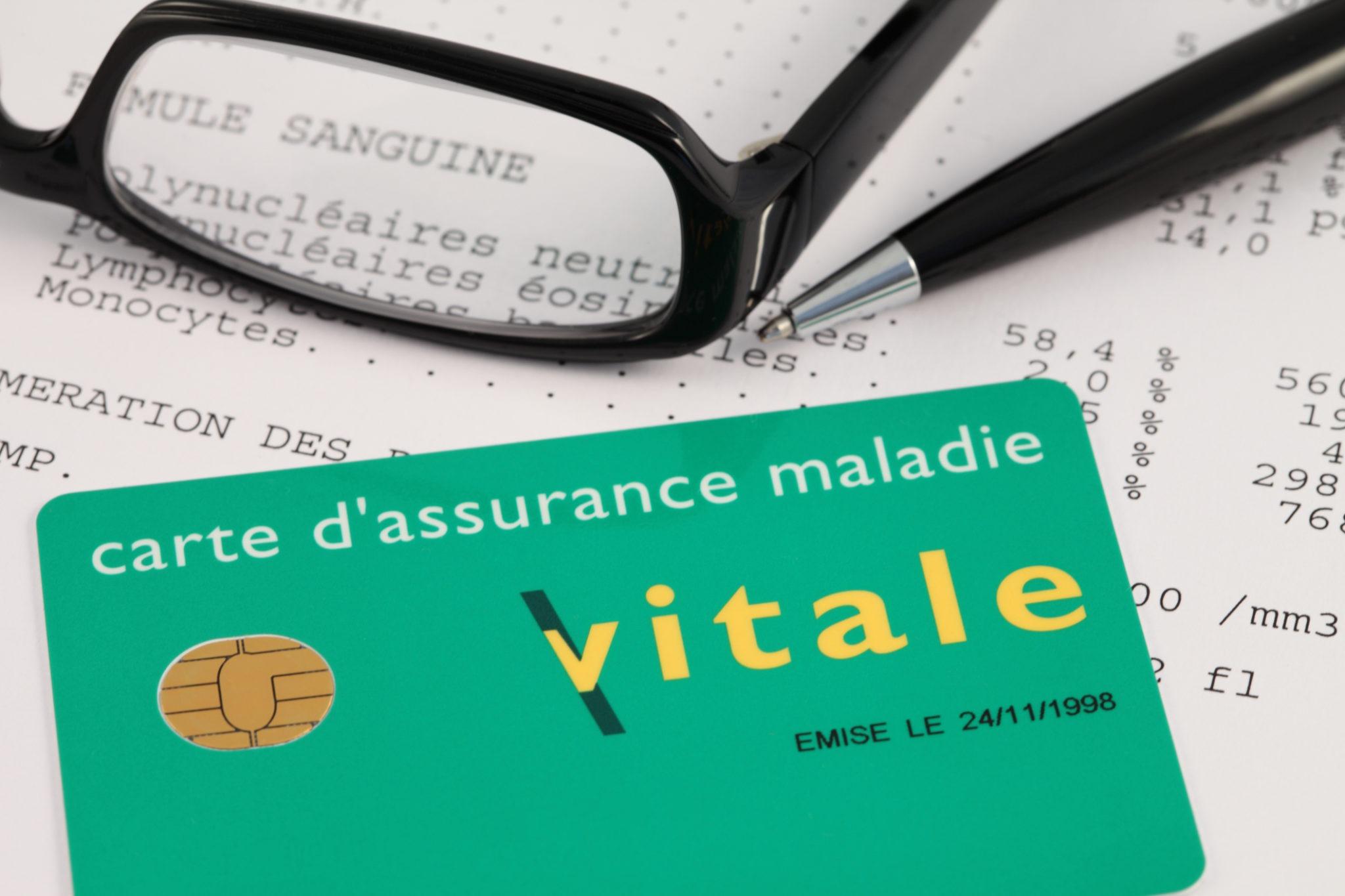 Carte vitale assurance maladie santé