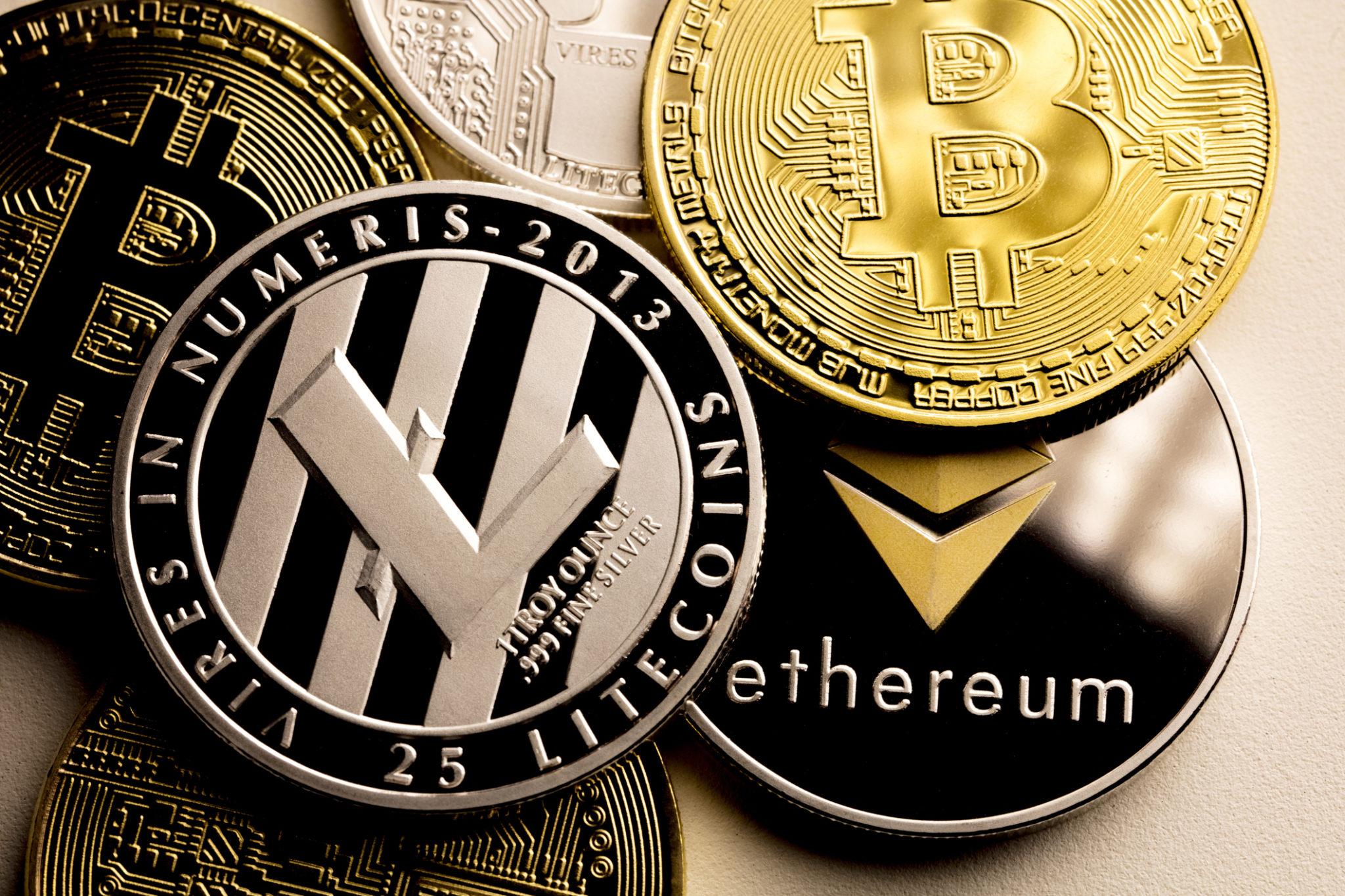 ICO Cryptomonnaies Bitcoin Litecoin Ethereum