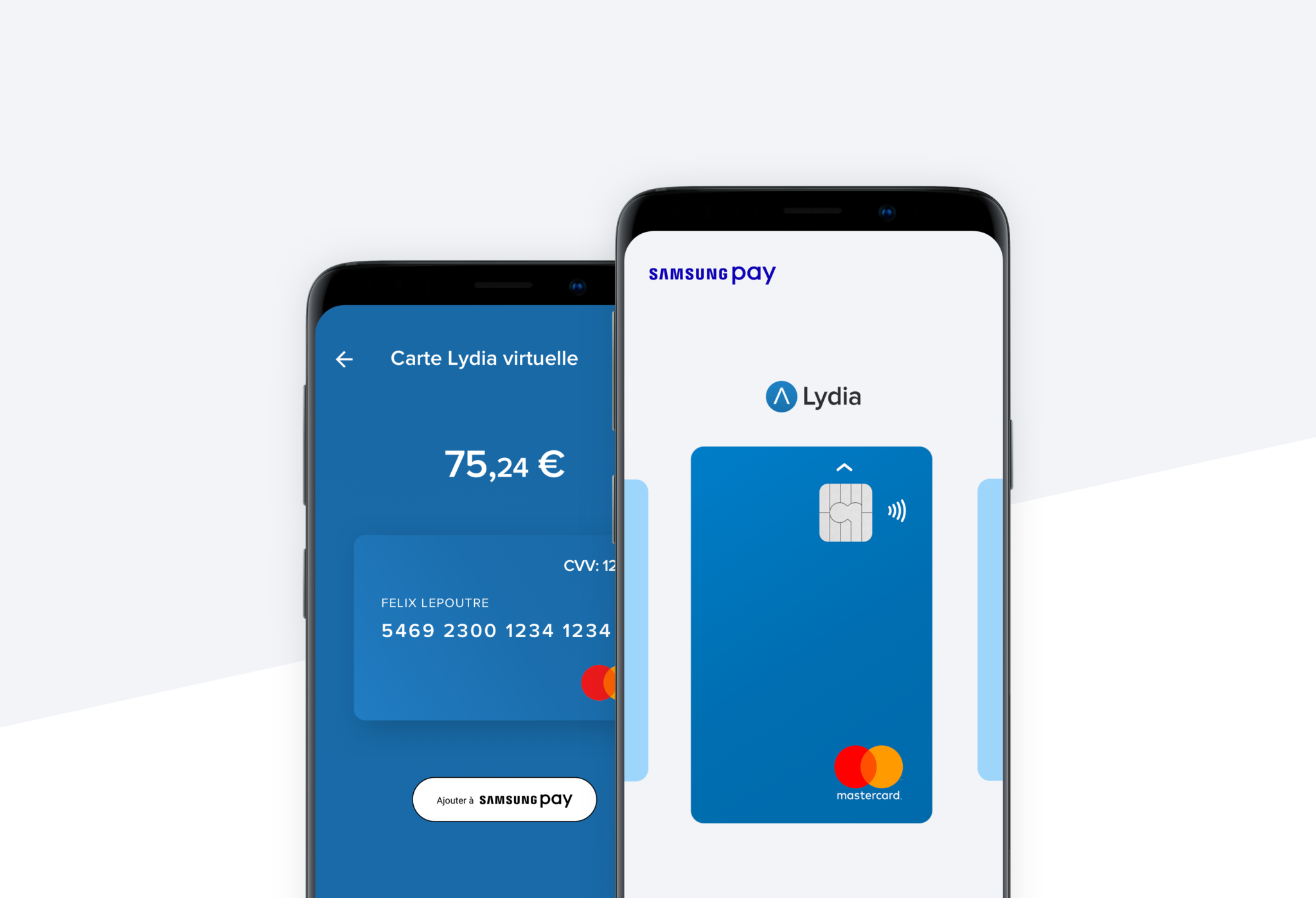 Samsung Pay Lydia paiement mobile