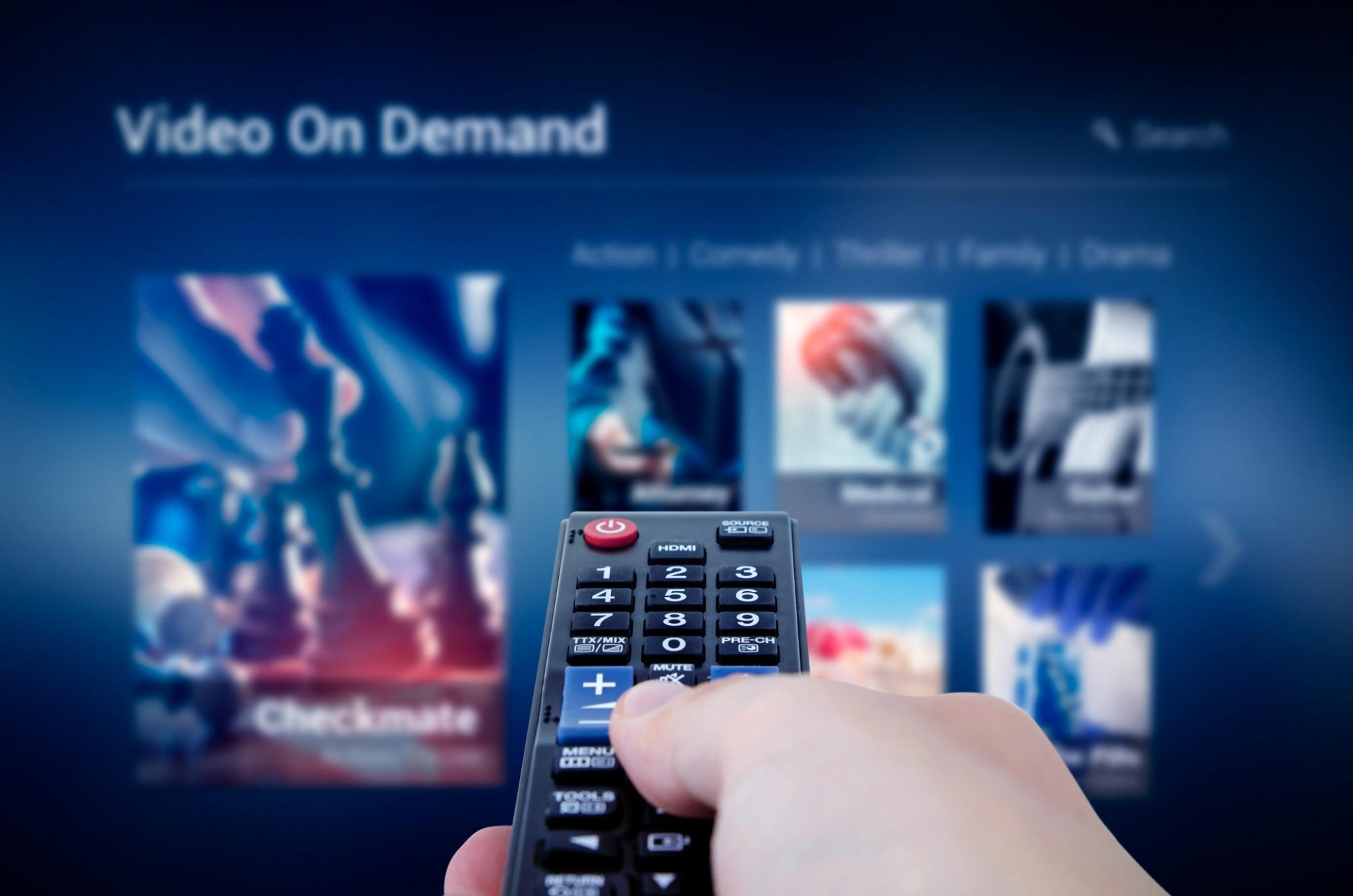 Plateforme VOD Netflix TF1 M6 France Télévisions