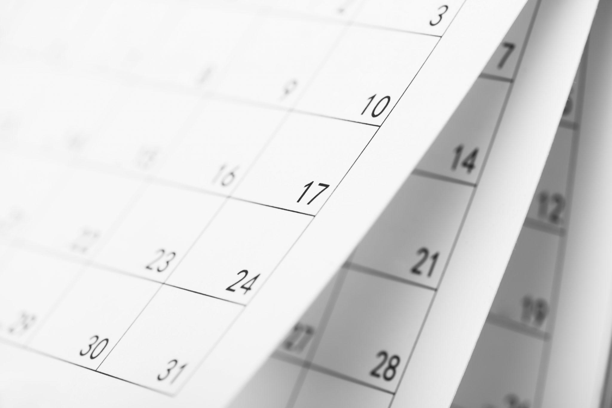 Age de départ à la retraite calendrier