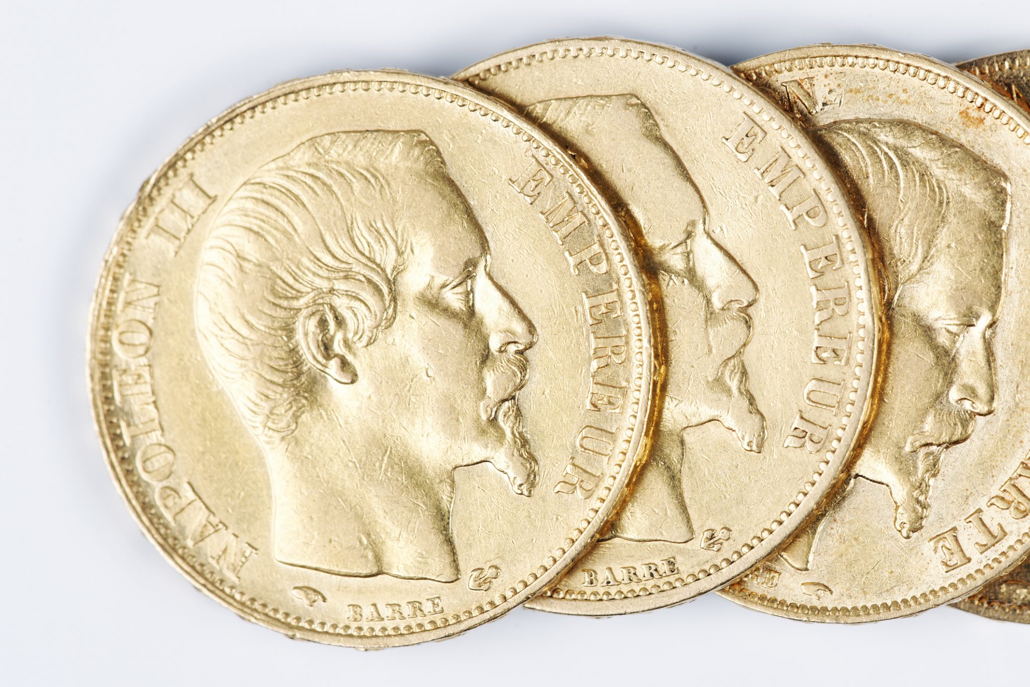 Or fiscalité pièces napoléon l'or