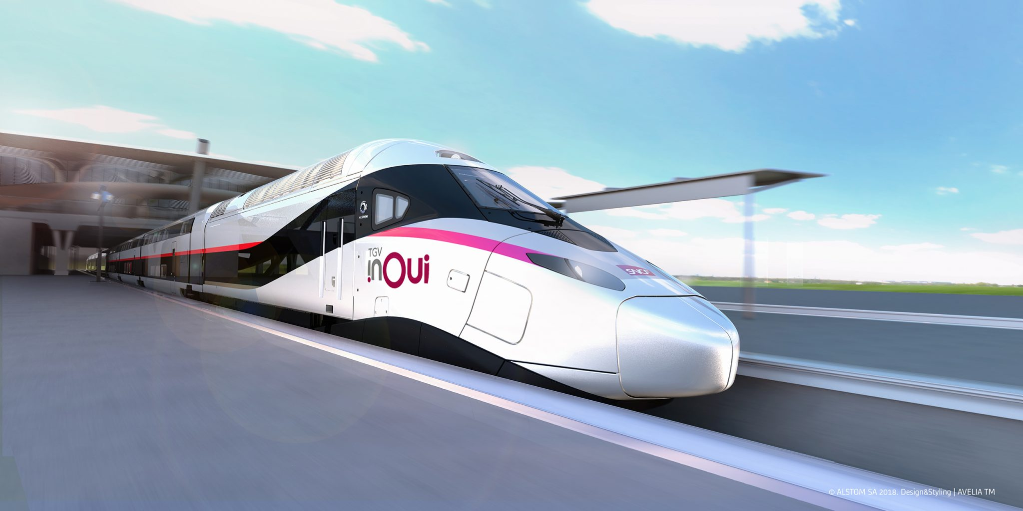 TGV Inoui SNCF Alstom