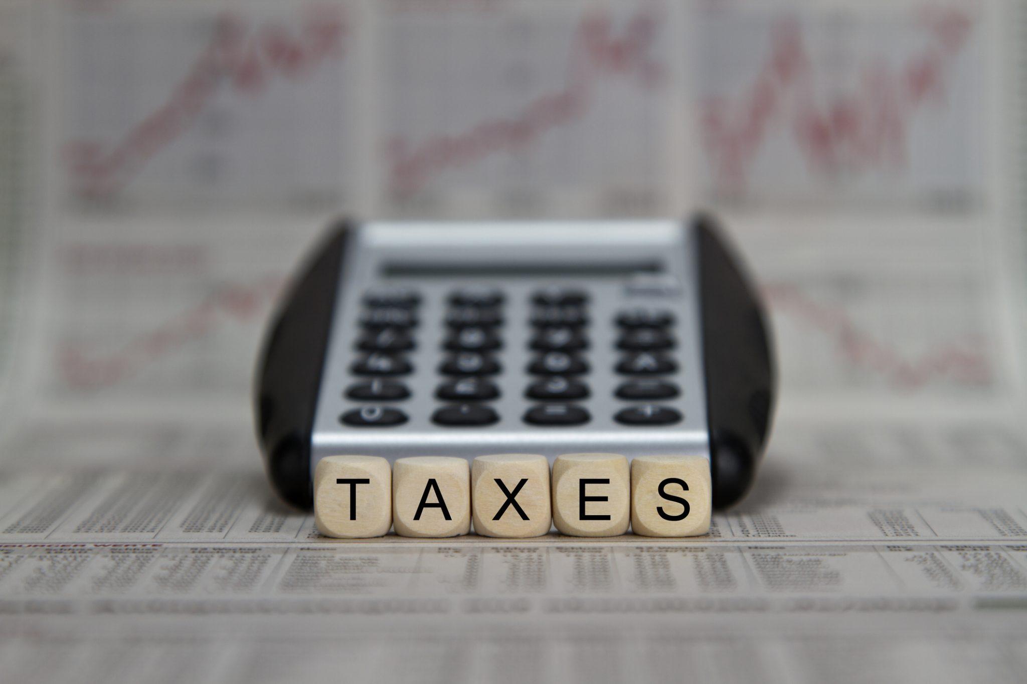 Taxe foncière taxes impôt taxe d'habitation