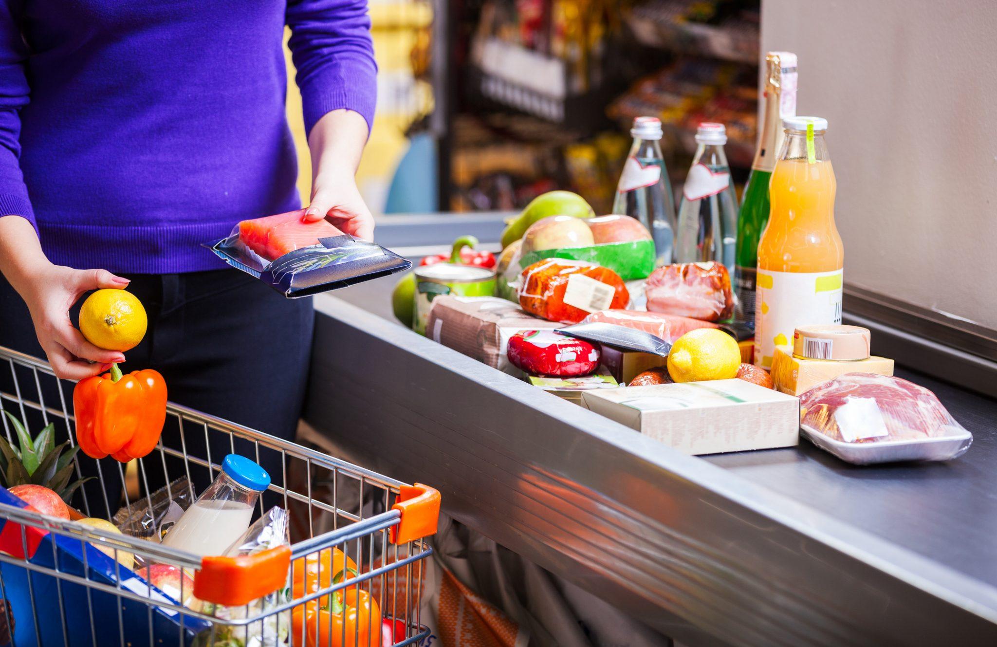 Supermarché caisse casino cash-back