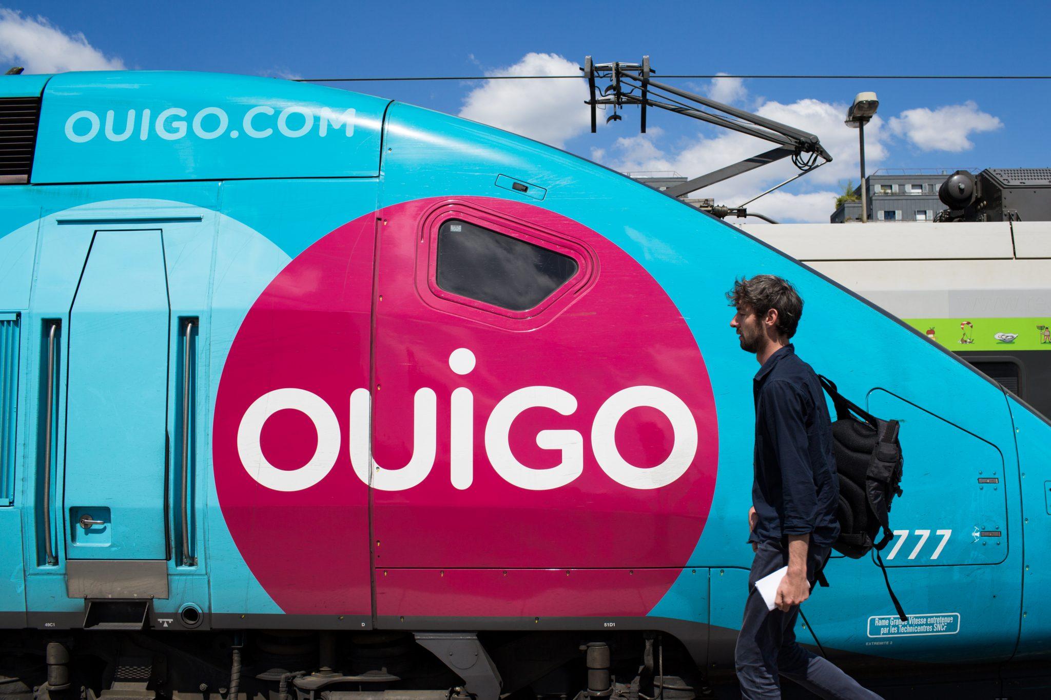 TGV ouigo sncf train
