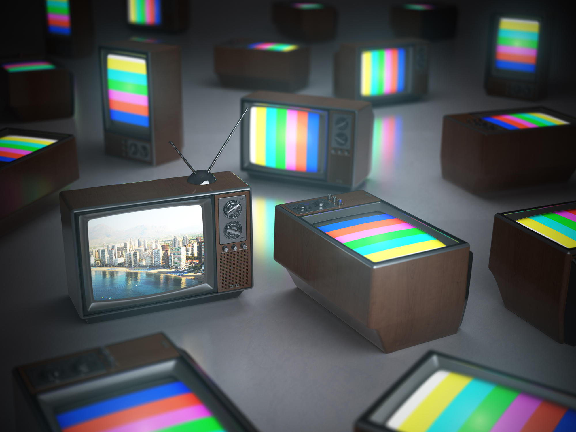 Téléviseur redevance TV télévision