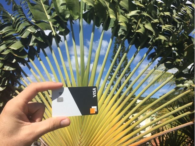 Orange Bank Visa premium
